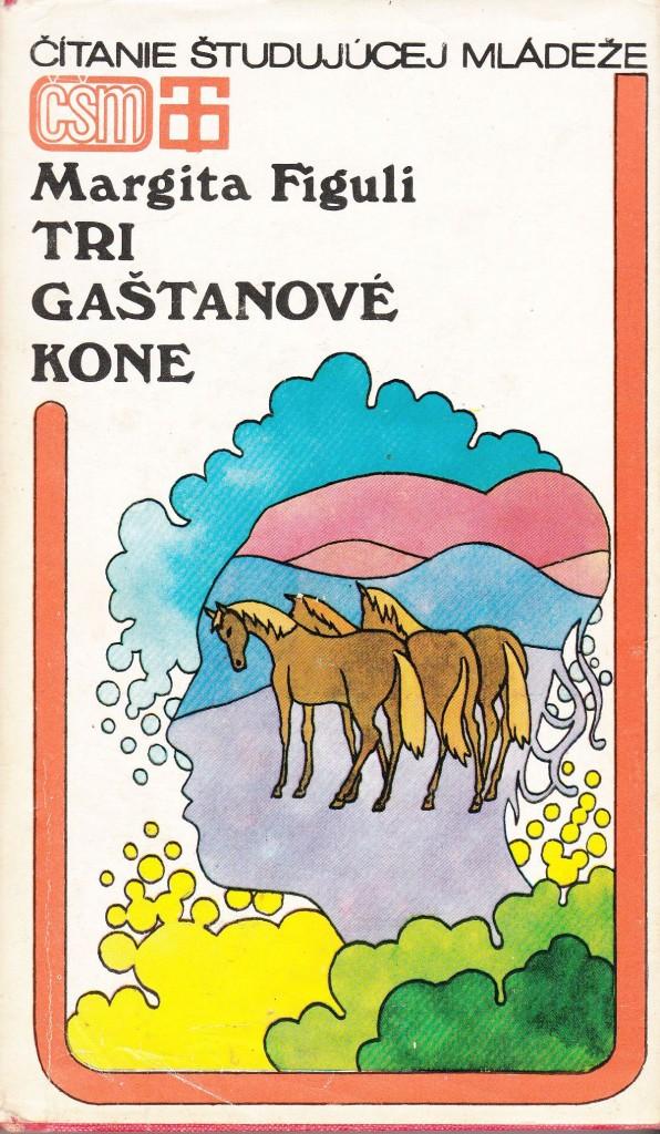 tri gaštanove kone