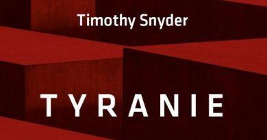 Tyranie Timothy Snyder